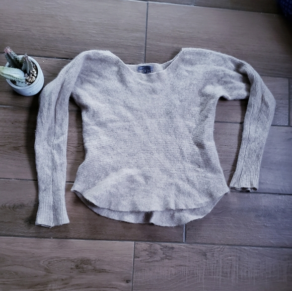 Vince Sweaters - Vince Ribbed Cashmere Crew Neck Slim Sweater